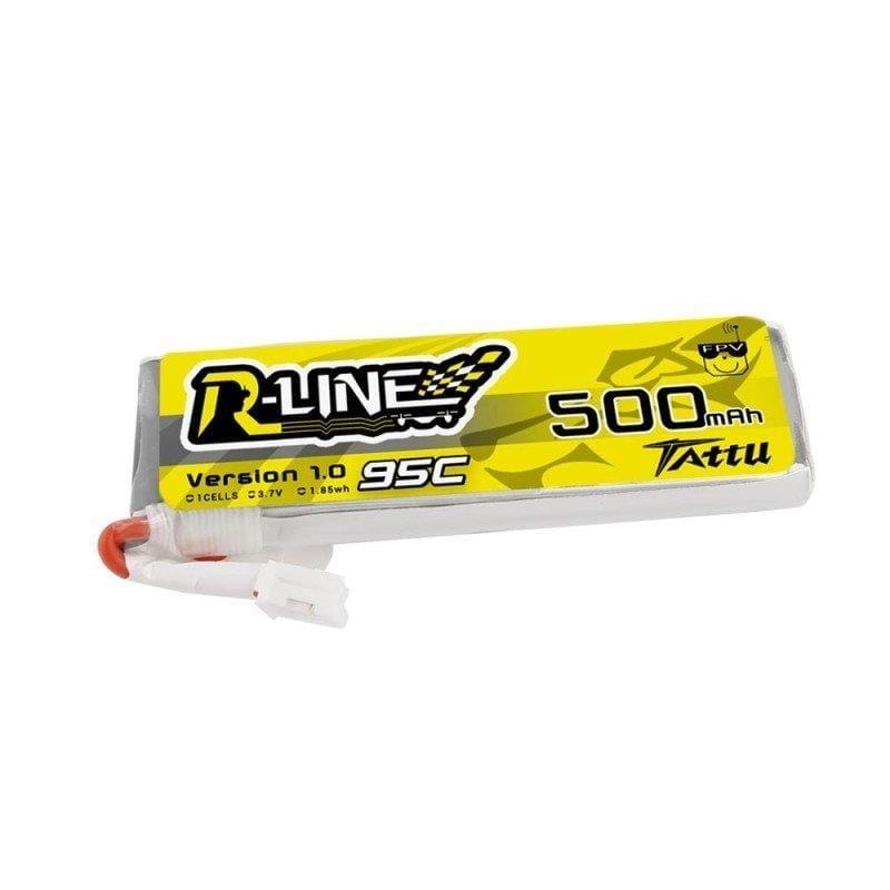 1s 500mAh - 95C - Gens Ace Tattu TinyHawk LiHV