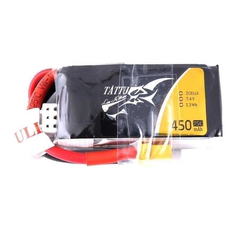 2s 450mAh - 75C - Gens Ace Tattu XT30