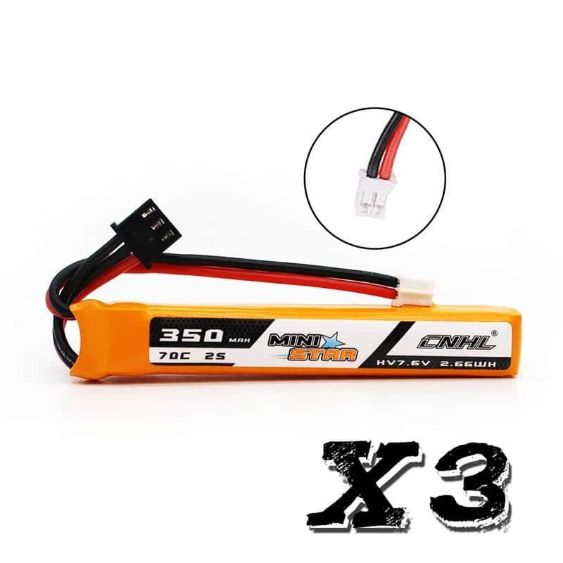 2s 350mAh - 70C - CNHL MiniStar PH2.0 3stk