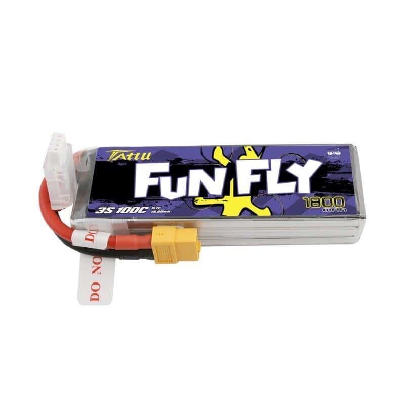 3s 1800mAh - 100C - Gens Ace FunFly XT60