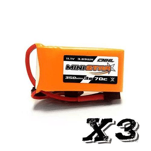 3s 350mAh - 70C - CNHL Ministar XT30 3stk