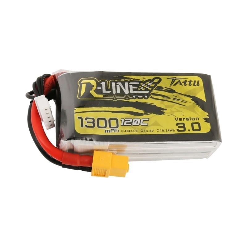 4s 1300mAh -120C - Gens Ace Tattu R-line 3.0