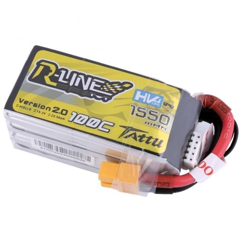 4s 1550mAh -100C - Gens Ace Tattu R-Line 2.0 HV
