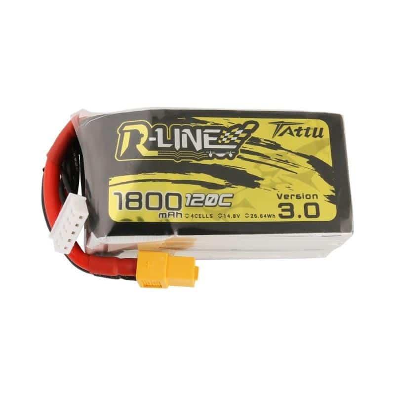 4s 1800mAh -120C - Gens Ace Tattu R-line 3.0