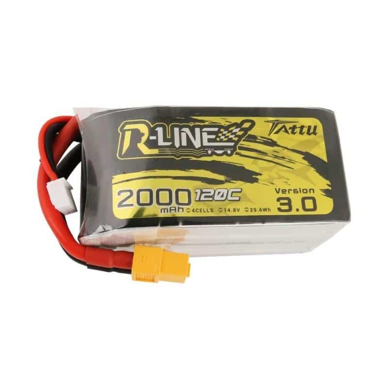 4s 2000mAh -120C - Gens Ace Tattu R-line 3.0