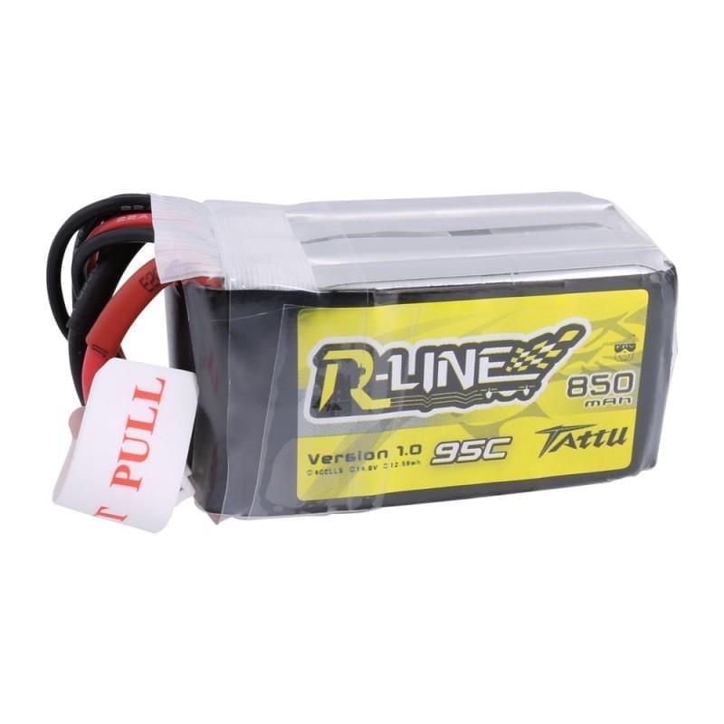 4s 850mAh - 95C - Gens Ace Tattu R-Line XT30