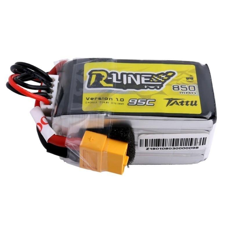 4s 850mAh - 95C - Gens Ace Tattu R-Line XT60