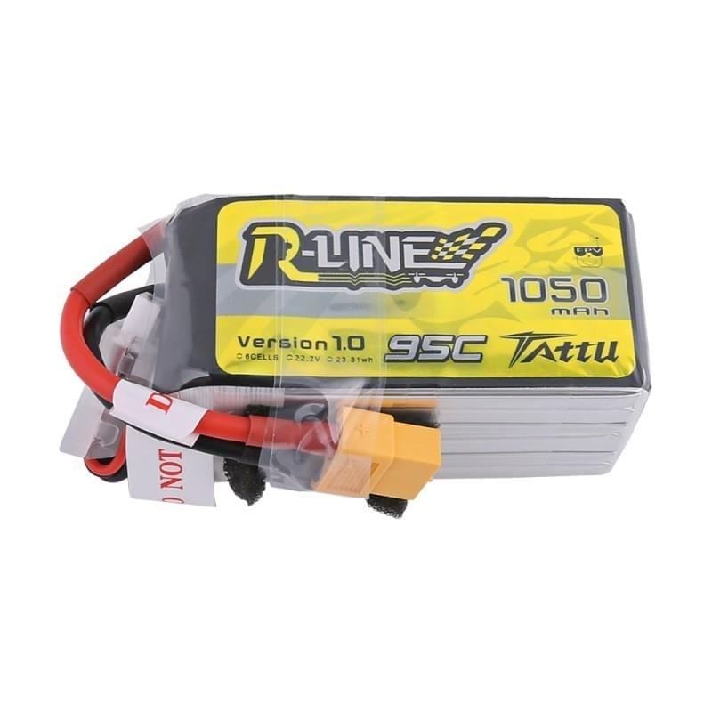 6s 1050mAh - 95C - Gens Ace Tattu R-Line XT60