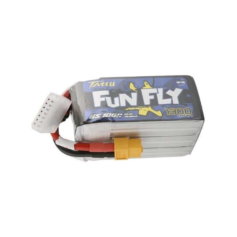6s 1300mAh -100C - Gens Ace FunFly XT60