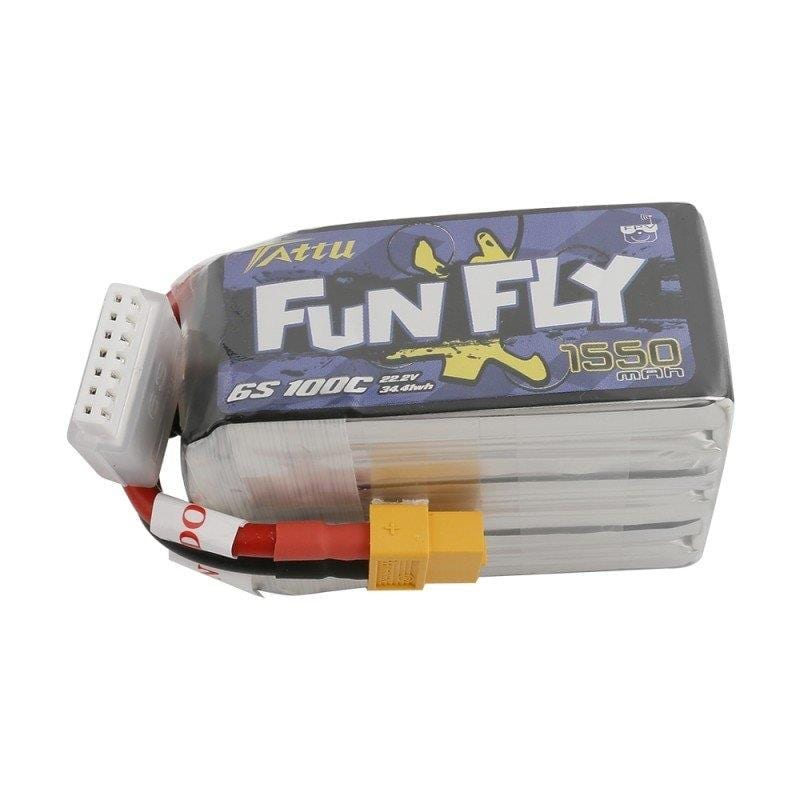 6s 1550mAh -100C - Gens Ace FunFly XT60