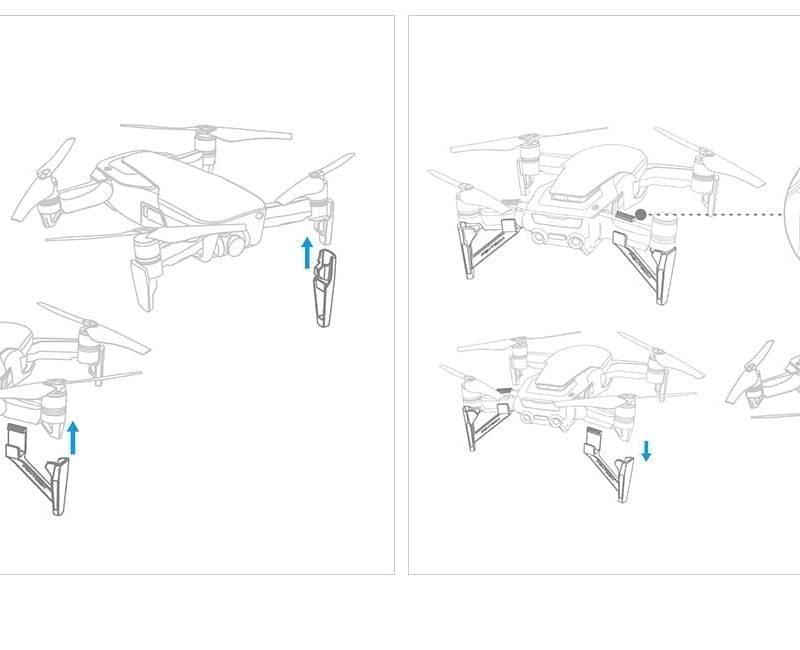 PGYTECH Landing Gear Extensions for MAVIC AIR
