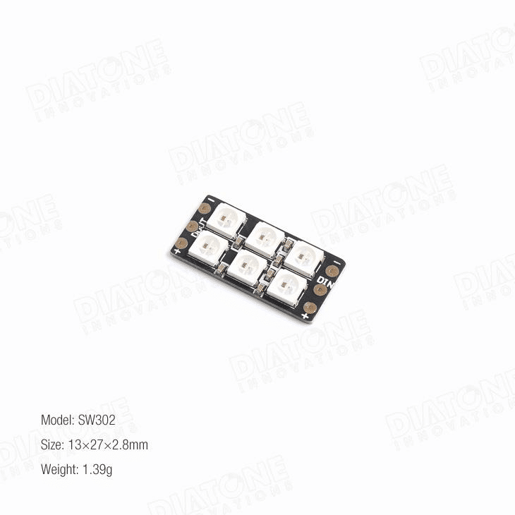 Diatone Flash-Bang RGB LED Board SW302