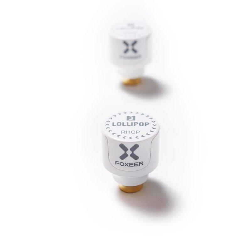 Foxeer Lollipop 3 Stubby RHCP SMA White 2st