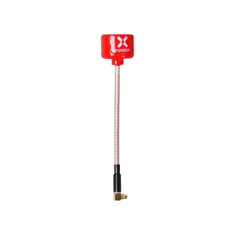 Foxeer Lollipop 5.8GHz RHCP Antenna MMCX RED 2st