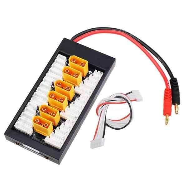 Fuse Multiladebrett 1-6s LiPo - XT90 XH