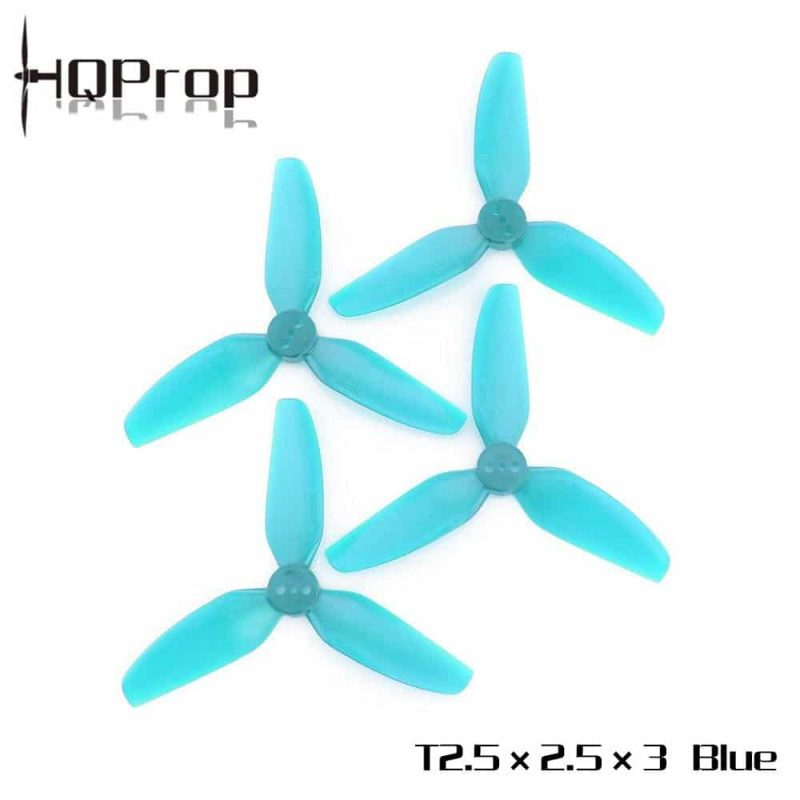 HQ Durable Prop T2.5X2.5X3 Light Blue (2CW+2CCW)