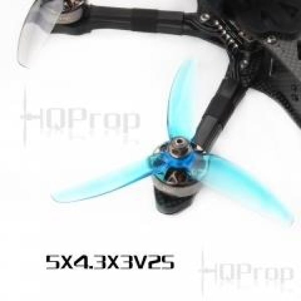 HQ Freestyle Prop 5x4.3x3V2S Blue (2CW+2CCW)