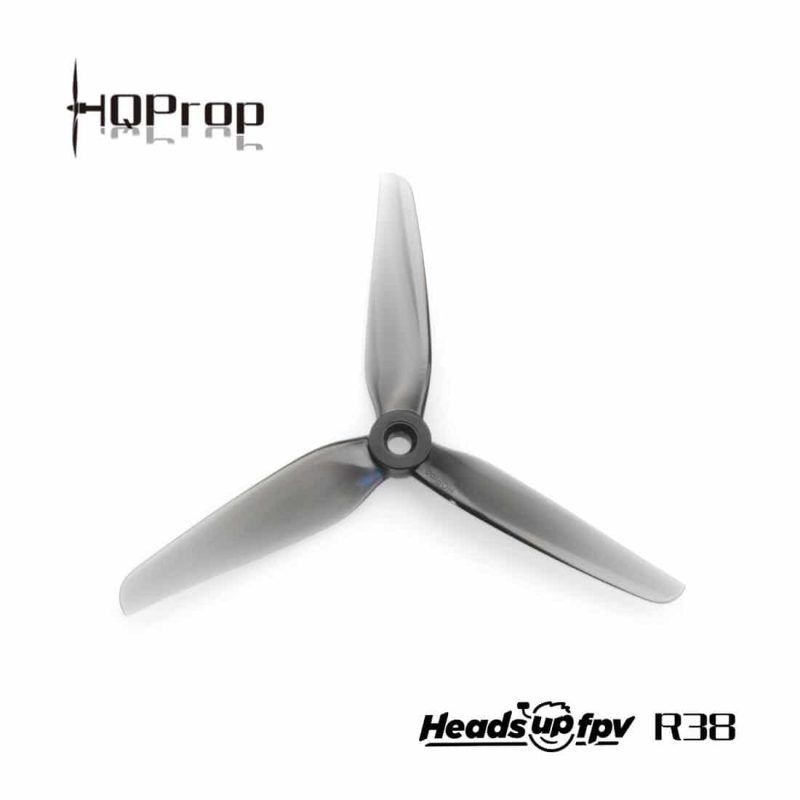 HQ HeadsUp Racing Prop R38 5.1inch Grey