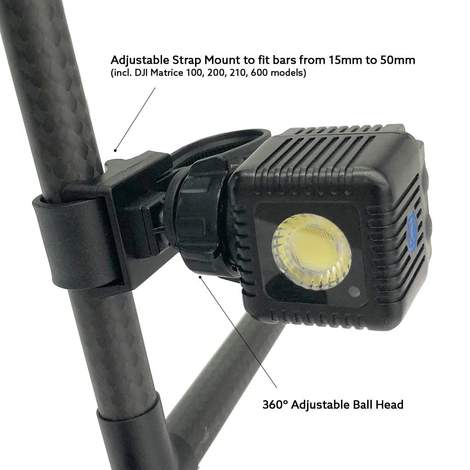 Lume Cube Drone Mounts for Matrice