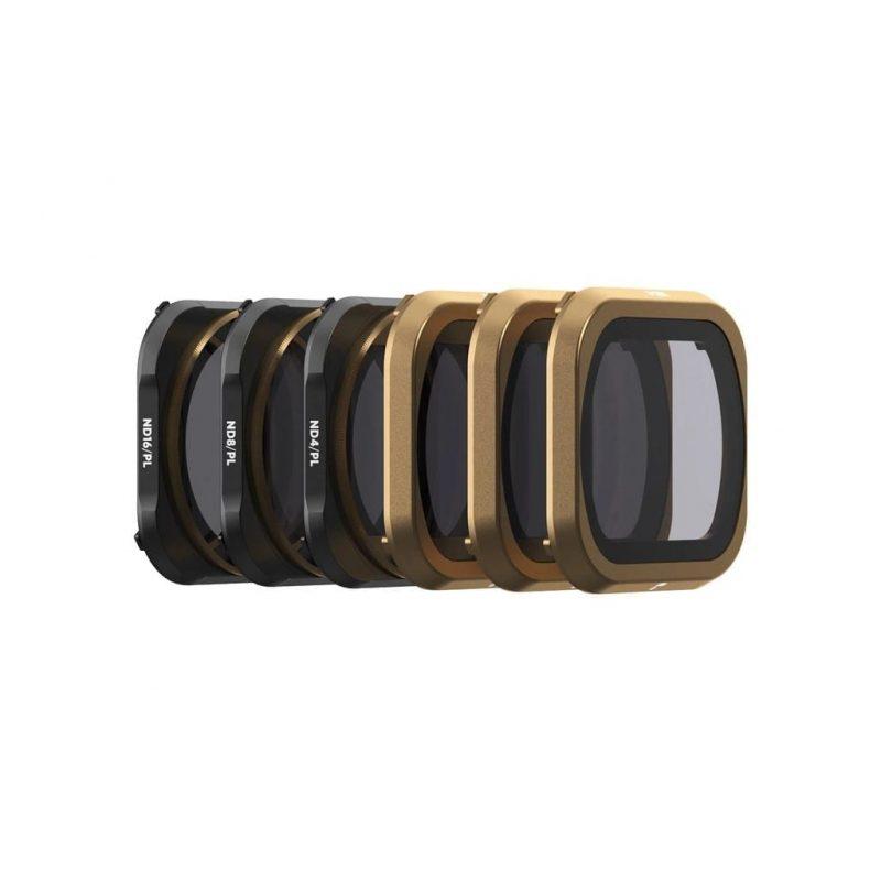 PolarPro | DJI Mavic 2 Pro | Cinema 6 Pack ND4, ND8, ND16, ND4PL