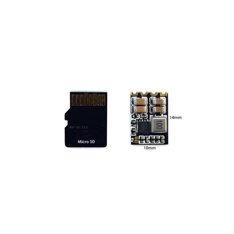 Mateksys Micro BEC 6-30V 5V/9V Adjustable. 3stk