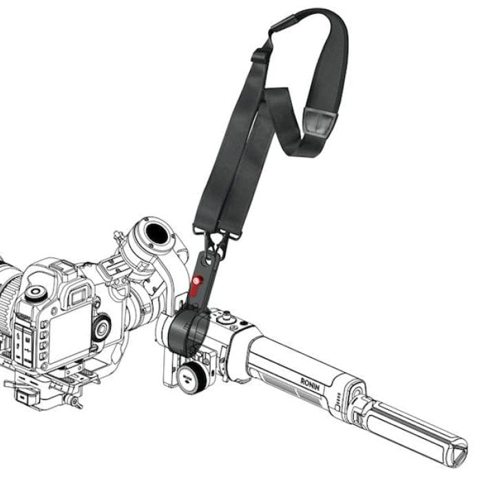 DJI | Ronin-S | Neck Strap with Clamps