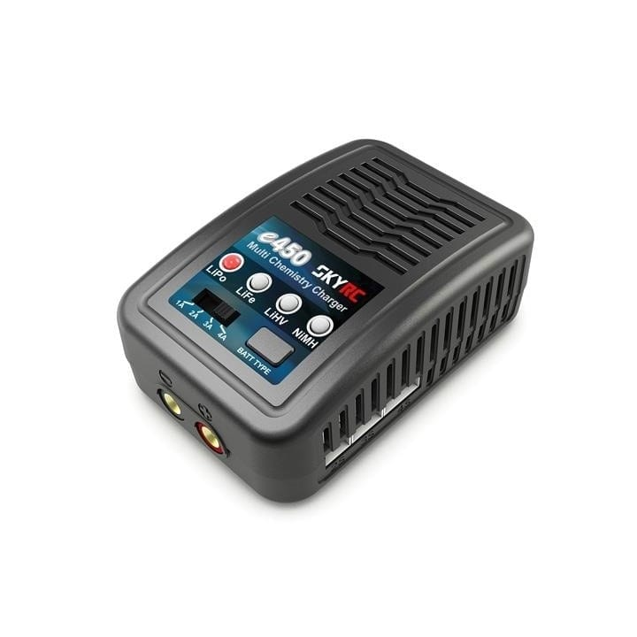 SkyRc E450 LiPo/Life/NiMh Lader 2-4S 50W 220V