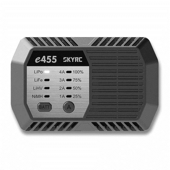 SkyRc E455 LiPoLifeNiMh Lader 2-4S 50W 220V