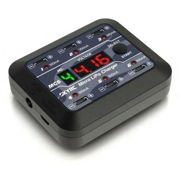 SkyRc MC6 6x1S Micro LiPO Charger