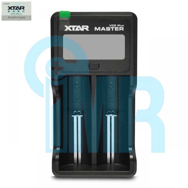 XTAR VC2 Plus Master 2 Channel Digital Battery Charger