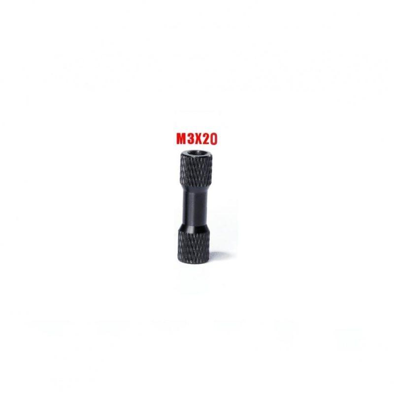 iFlight M3x20mm Black Standoff 1stk.