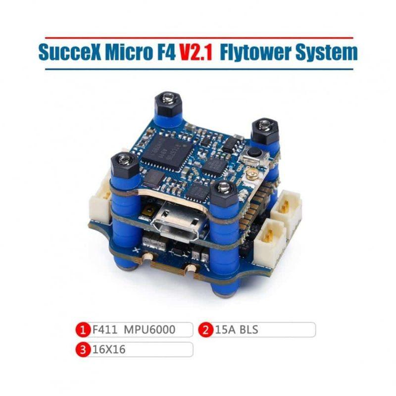 iFlight SucceX Micro F4 V2.1 Stack 16x16
