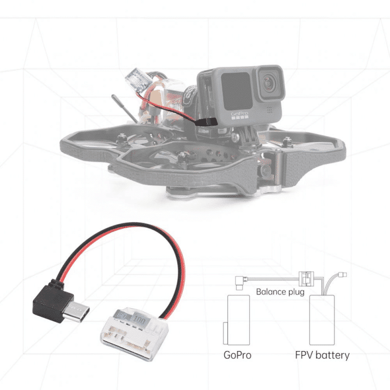 iFlight Type C til 5V Strømplugg for GoPro